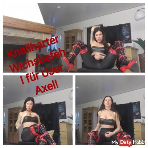 Brushless Wichsbefehl for User AXEL!