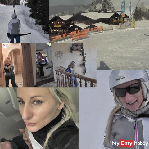 Ski trip !! escalated !! fucked!
