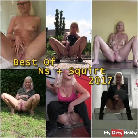 BlondeHexe - Best of SQUIRT AND NATURE 2017