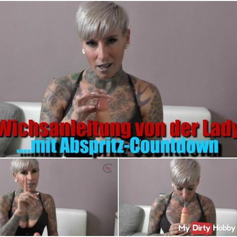 Wichsanleitung from the lady!