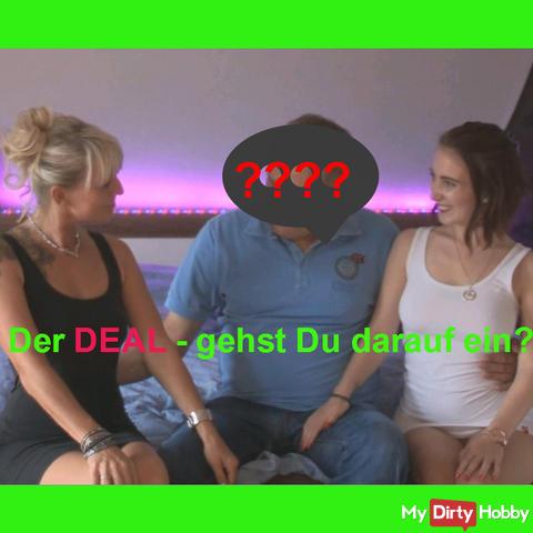 Der DEAL-Mein heißer Dreier mit Lia !