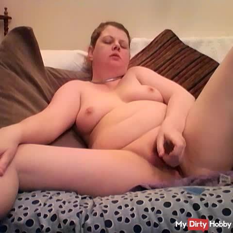 Arikajira Wet And Wild Cum With Glass Cock BBW