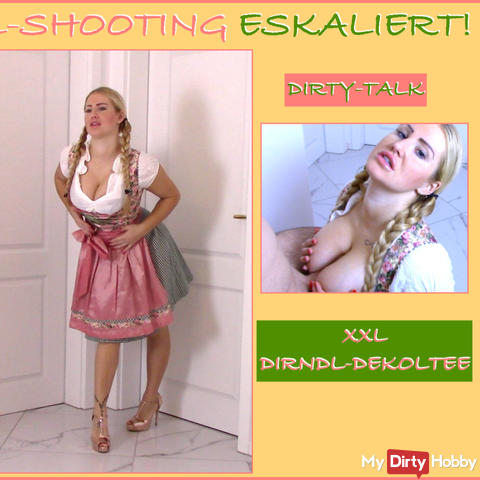 DIRNDL shoot ESCALED! Photographed!