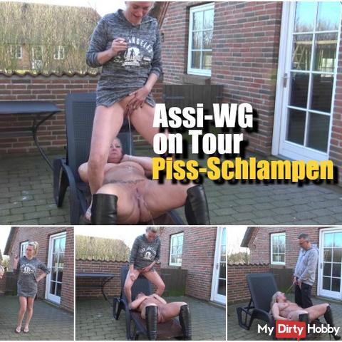 Assi-WG on Tour – Piss-Schlampen