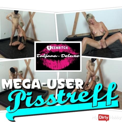 Mega-User-Pisstreff