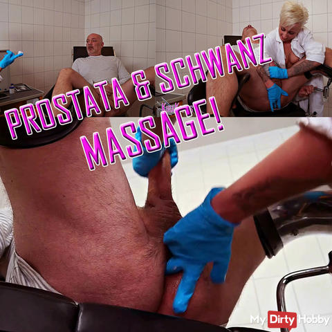 Prostate and cock massage