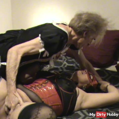Meeting with TS - Devotion is waxed until she comes