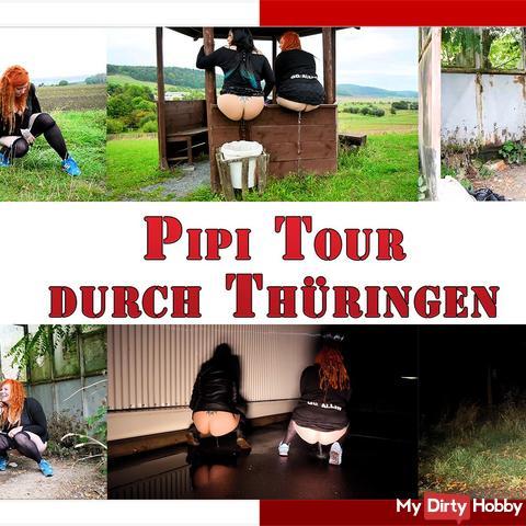 Our Pipi tour of Thuringia