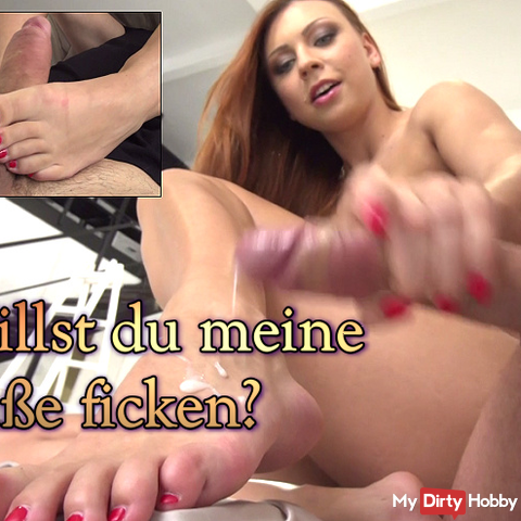 Do you want to fuck my feet?