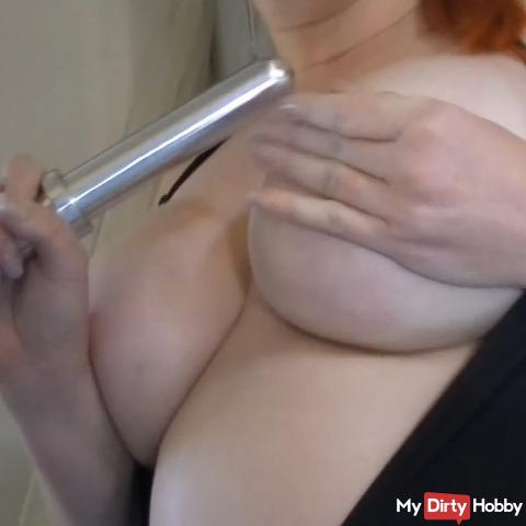 horny housewife makes clean