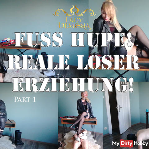 Foot horn! Real loser education! Part 1 30 min | by Lady_Demona