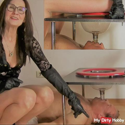 NS - CLEANING - enormous abrasion - a test for the slave