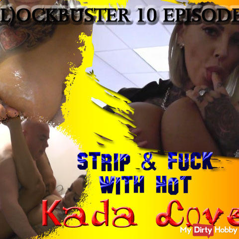 B (L) OCKBUSTER 10 EPISODE 1 Strip & Fuck with hot Kada Love ...
