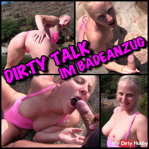 Dirty Talk in swimsuit - Use me as Wichsvorlage