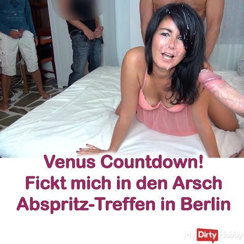 Venus countdown! Abspritz-Treff in Berlin