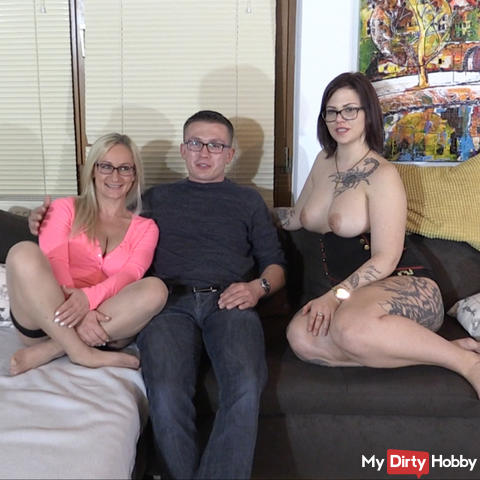 Horny user threesome with Aneta!