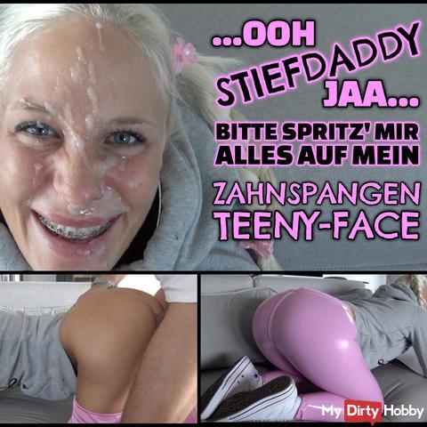 XXL TEENY FACIAL - Stiefpapas Fragile Leggings Schlampe