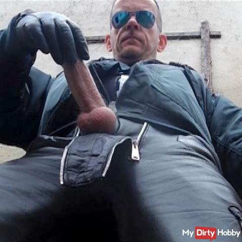 LeatherCop14 CockPlayXL  Piss