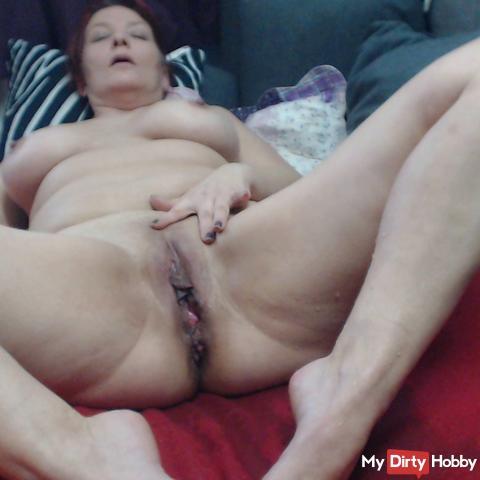 pissing naked