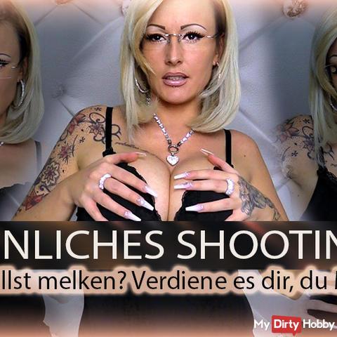 Peinliches Shooting! Du willst melken? Verdiene es dir!