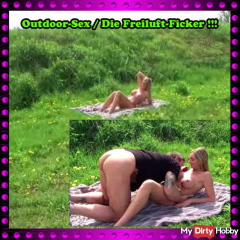 Outdoor sex // The outdoor fucker