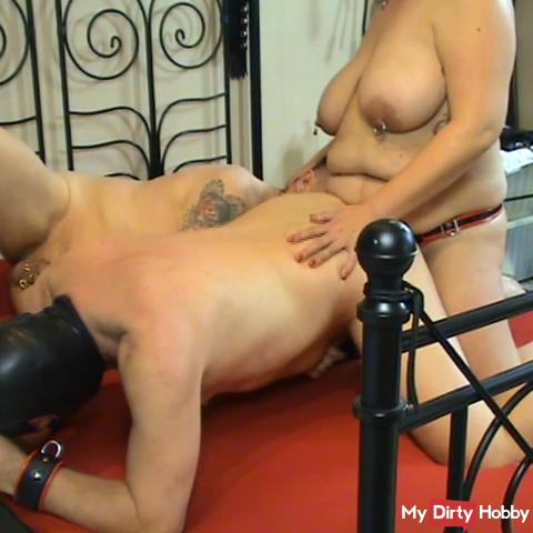 Devotion fucks the slave in the ass and he gets waxed 2.2