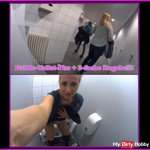 Public-Toilet-Piss + 3-fache Zugabe!!!