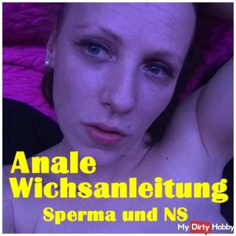 Anal Wichsanleitung - semen and NS