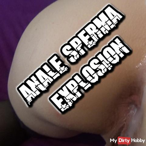 Anal Sperm Explosion