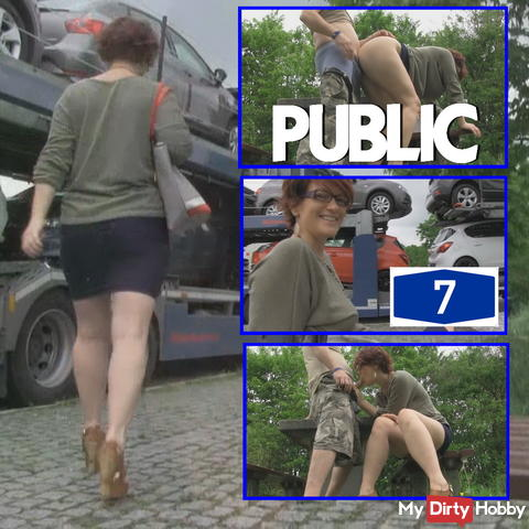 Public ficken am Rastplatz