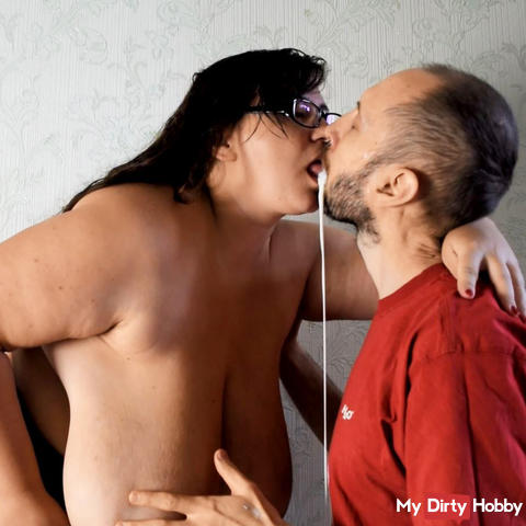 goddess worship milk squirt and spit