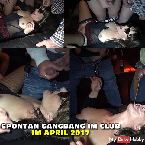 Spontaneous Gang Bang Club in April 2017