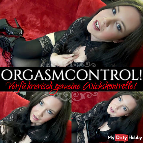 OrgasmControl! Seductive common weighting control!