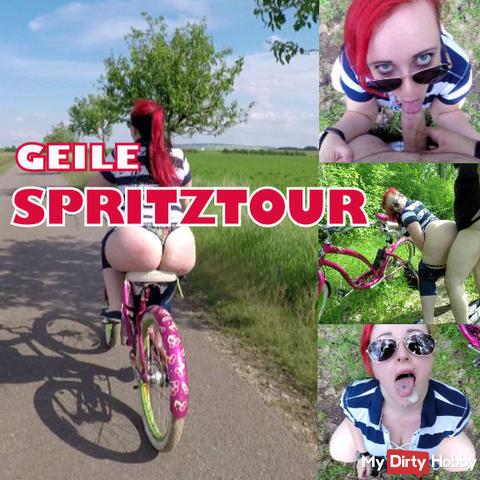 Horny SPERM spraying tour