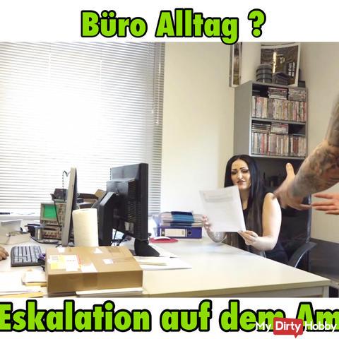 Büro Alltag? fi** und sper*a Orgie!