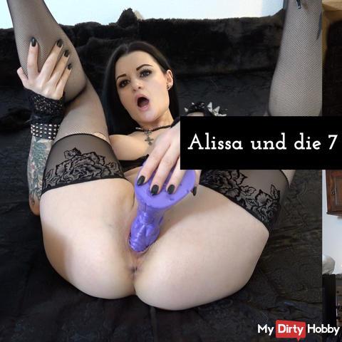 Alissa und die 7 Dildos