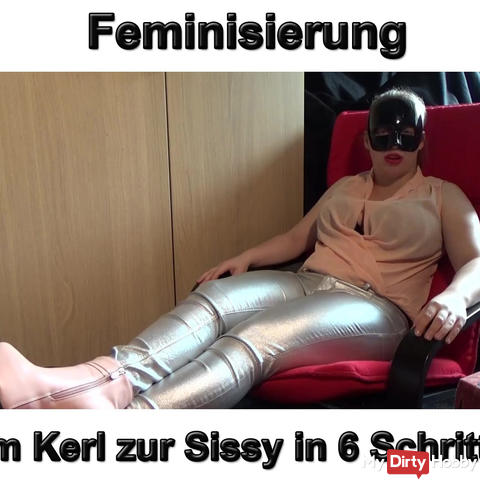 Feminization from the guy to the Sissy in 6 steps