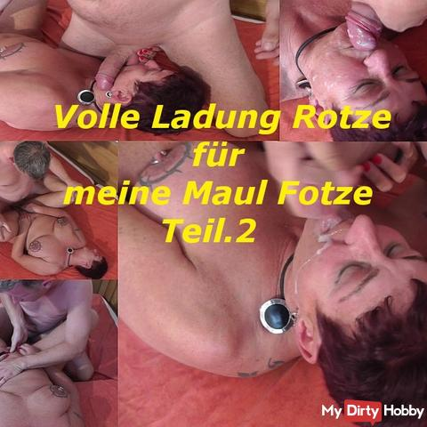 Red for my muzzle cunt.Teil.2
