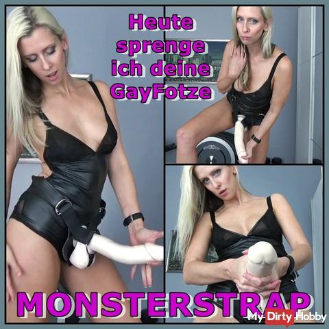 MONSTERSTRAP - Today I'm going to blow your GayFotze