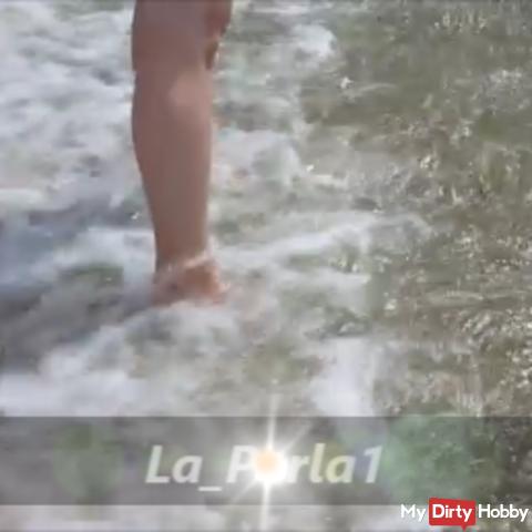Füßchen im Meer