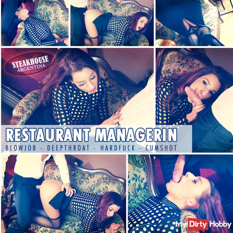 THE RESTAURANT MANAGER (XXL cock & cum load)