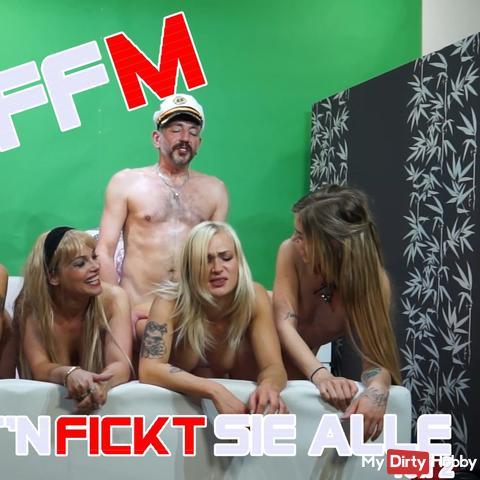 FFFFFM - Der Käpt'n fickt sie Alle! - Teil 2 -