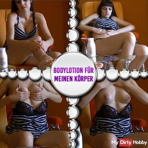 Bodylotion for my body