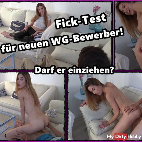 Fick-Test für WG-Bewerber! Bekommt er das Zimmer?