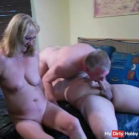 My husband loves pussy, dicks and ass