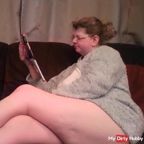 Reading And Ignoring my slave POV