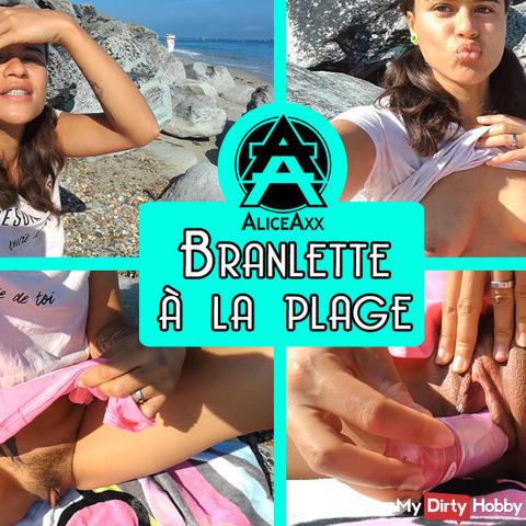 Branlette à la plage