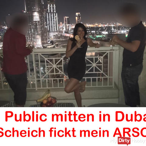 Public fuck in Dubai! Sheik rips my ass!
