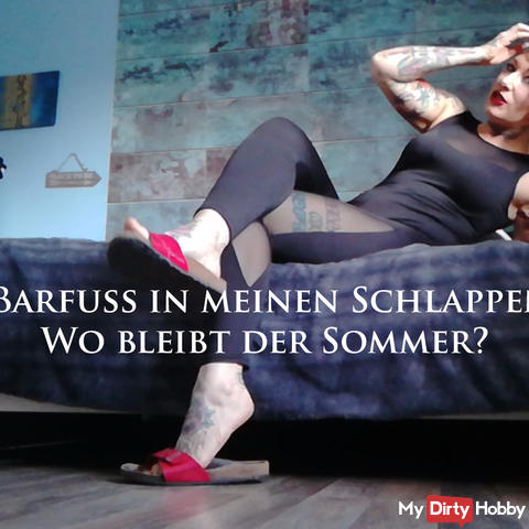 Barefoot in my slippers! Where is the summer? | by Lady_Demona
