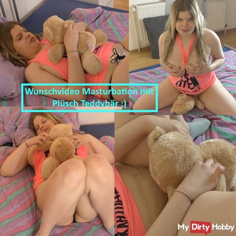 Desired video spoils me with cuddly teddy bear